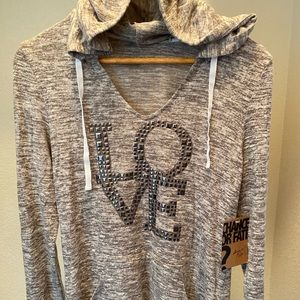 LOVE Hoodie Sweater by Chance Or Fate